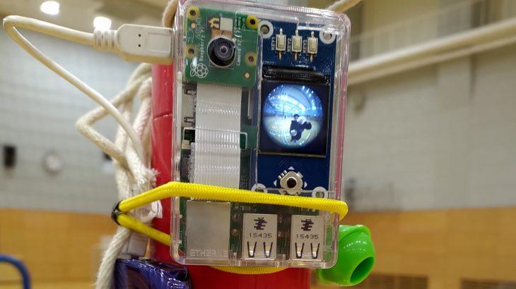 Raspi用カメラアプリ実装例(LCDディスプレイ付き)